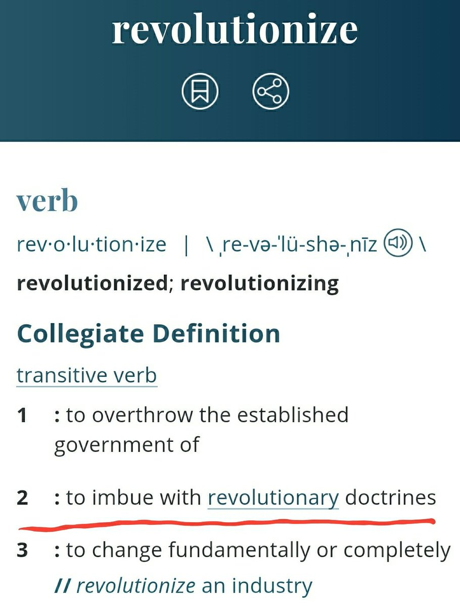 Hey @michaelirvin88, Steve wants you to know this is the correct meaning of the word revolutionize 😂 @CutToIt