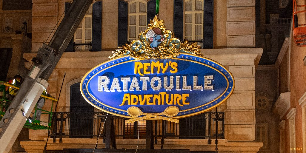 Replying to @DisneyParks: Check out a few highlights from the #D23FantasticWorlds Celebration presentation on the historic transformation of EPCOT, including a deep dive into the creation of Remy's Ratatouille Adventure, opening next year: