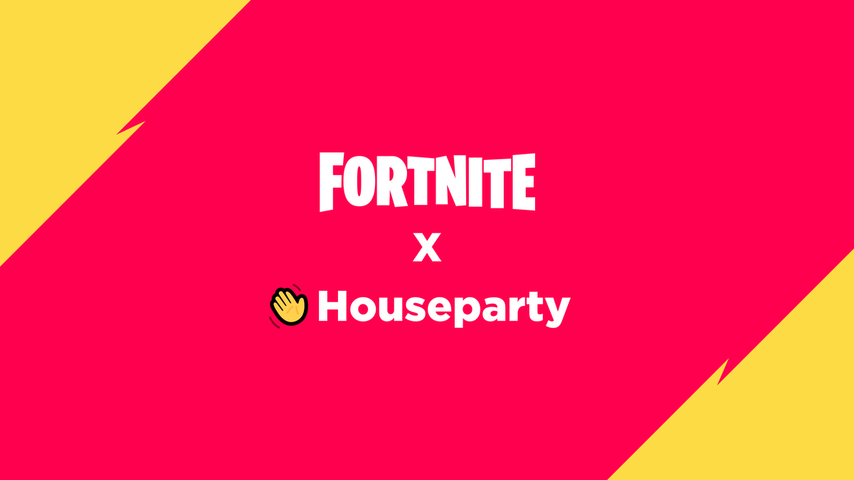 It's live! Now you can video chat with friends in Fortnite with @Houseparty!  Link your Epic and Houseparty accounts to get started!  Watch the video below for more info.