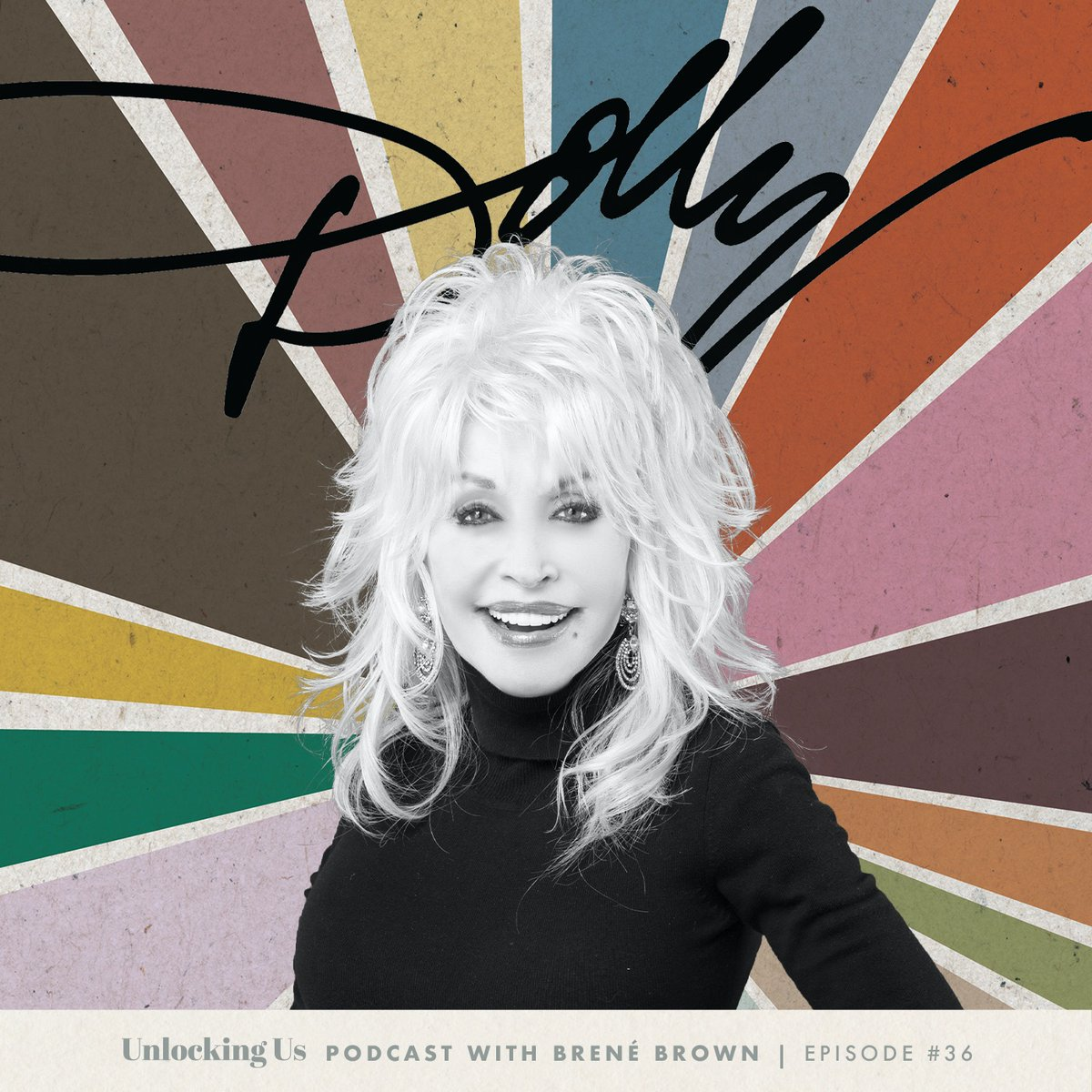 Had THE best time talking to @DollyParton  about love, loss, and leadership. And I had to ask her a question about Burt Reynolds - just for my grandma, who I know is listening from somewhere with a sweet tea in one hand and a cig in the other.   To listen: