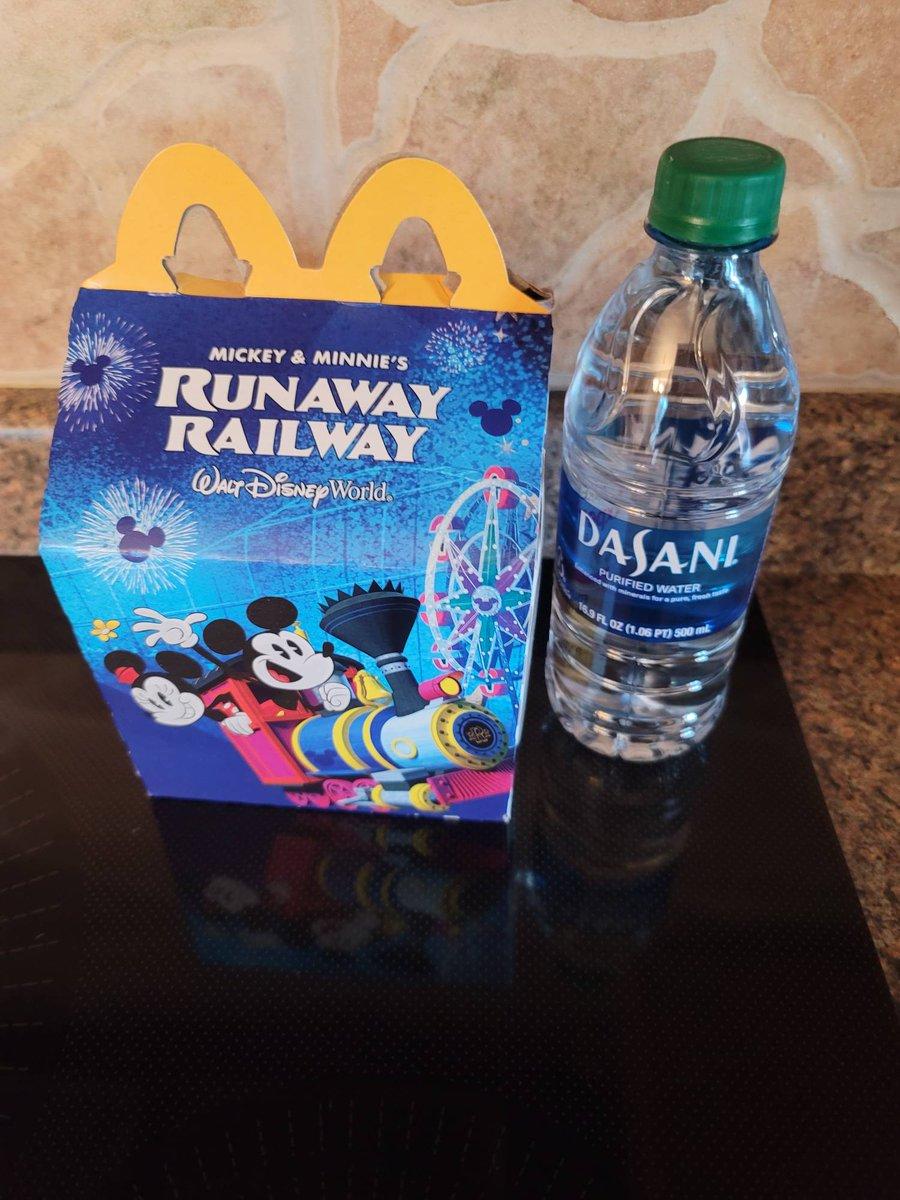 Did you get your Happy Meal? #HappyDayHappyMeal #HappilyEverAfterTravel  #MickeyandMinniesRunAwayRailway