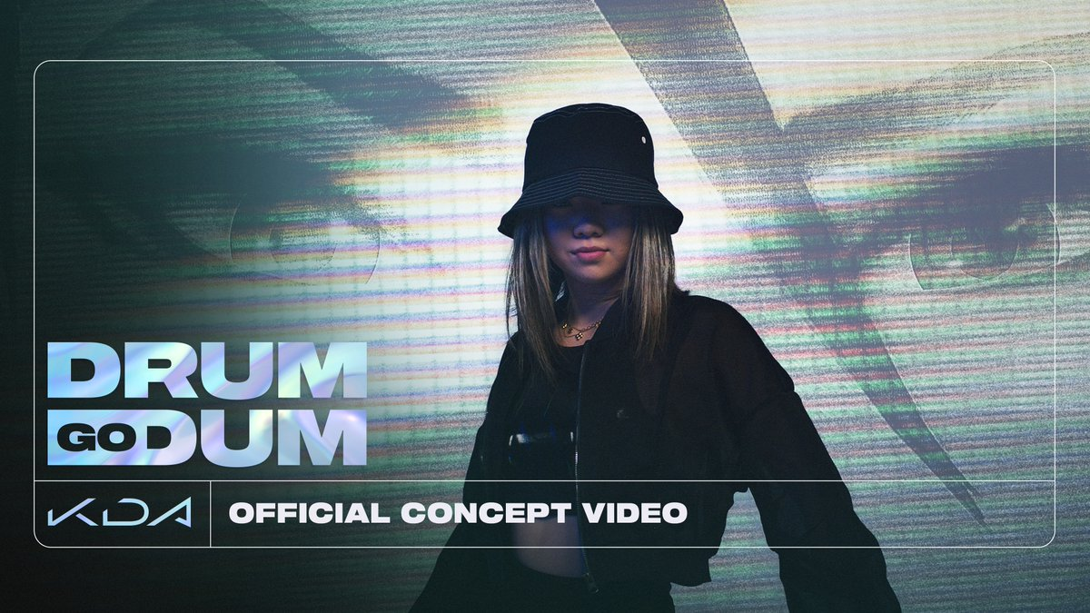 Watch the official concept video for K/DA - DRUM GO DUM Watch on YouTube: youtu.be/E_PbH5y70Tc Stream ALL OUT: ffm.to/kda-allout #KDA #ALLOUT #DRUMGODUM