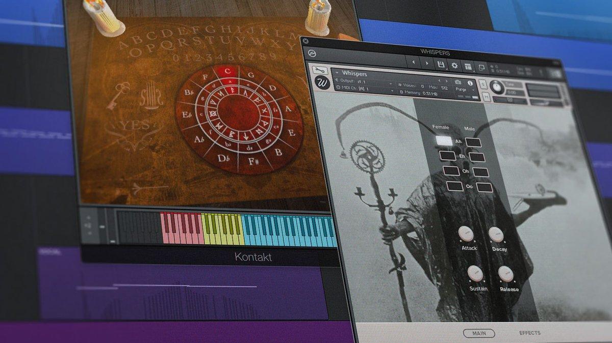 Free download! Get 5 KONTAKT libraries perfect for modern horror soundtracks → bit.ly/31QrHC3 👻🎼