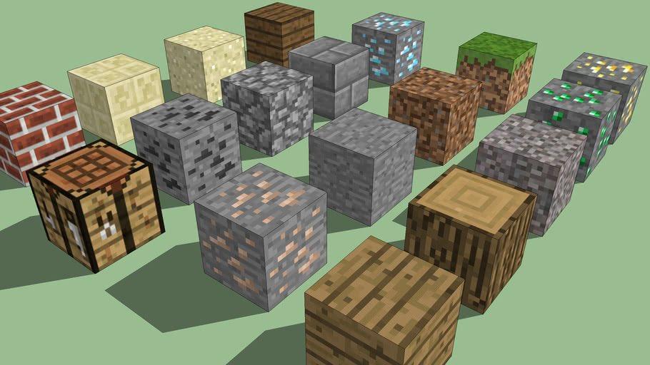 скины блоков в майнкрафт пе #9