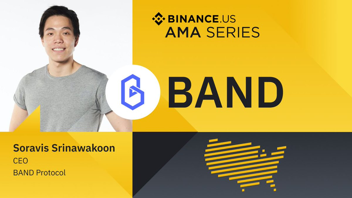 📣 $BAND's CEO & Co-founder @SSrinawakoon sat down with @BinanceUS CEO @cryptocoley to answer community questions and talk about about #oracle, #crypto, and anything decentralized finance #DeFi!