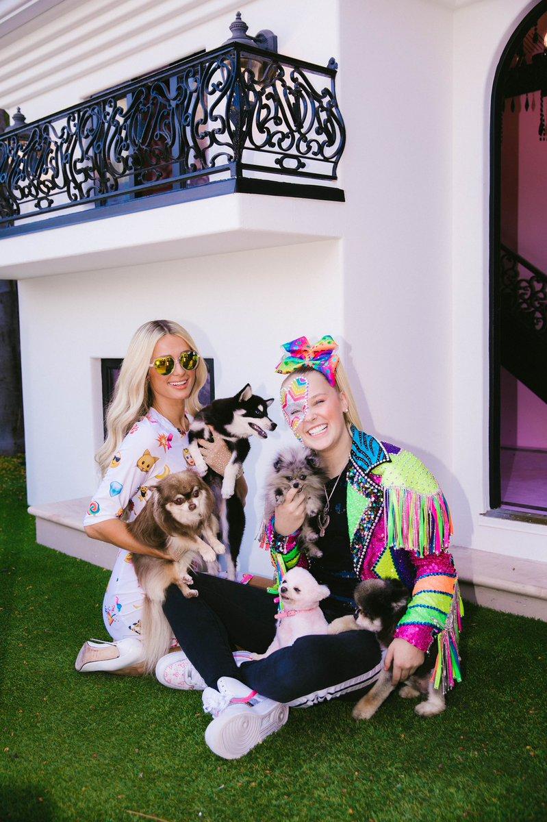 #PuppyTime at the #DoggyMansion with @itsjojosiwa & my @HiltonPets. ✨💕🐕👸🏼🐶👱🏻♀️🐕💕✨