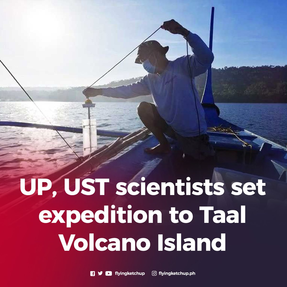 Under the Agham ng Bulkang Taal program, the teams will be conducting studies on how they can help the landowners, lakeshore communities and LGUs manage and sustain the lake and volcano resources. https://t.co/nFBjY9OKZq https://t.co/Zkkb7yKpWs