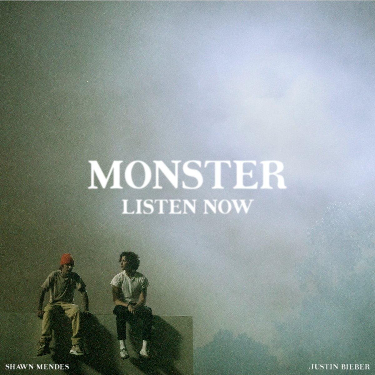 Replying to @ShawnMendes: #MONSTER out now @justinbieber