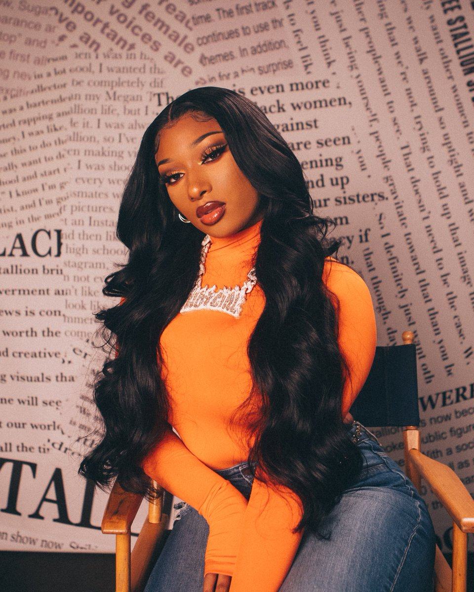 Good news: Megan Thee Stallion just dropped. Stream her new album and watch exclusive clips about the making of the project now  #GOODNEWSMEGAN
