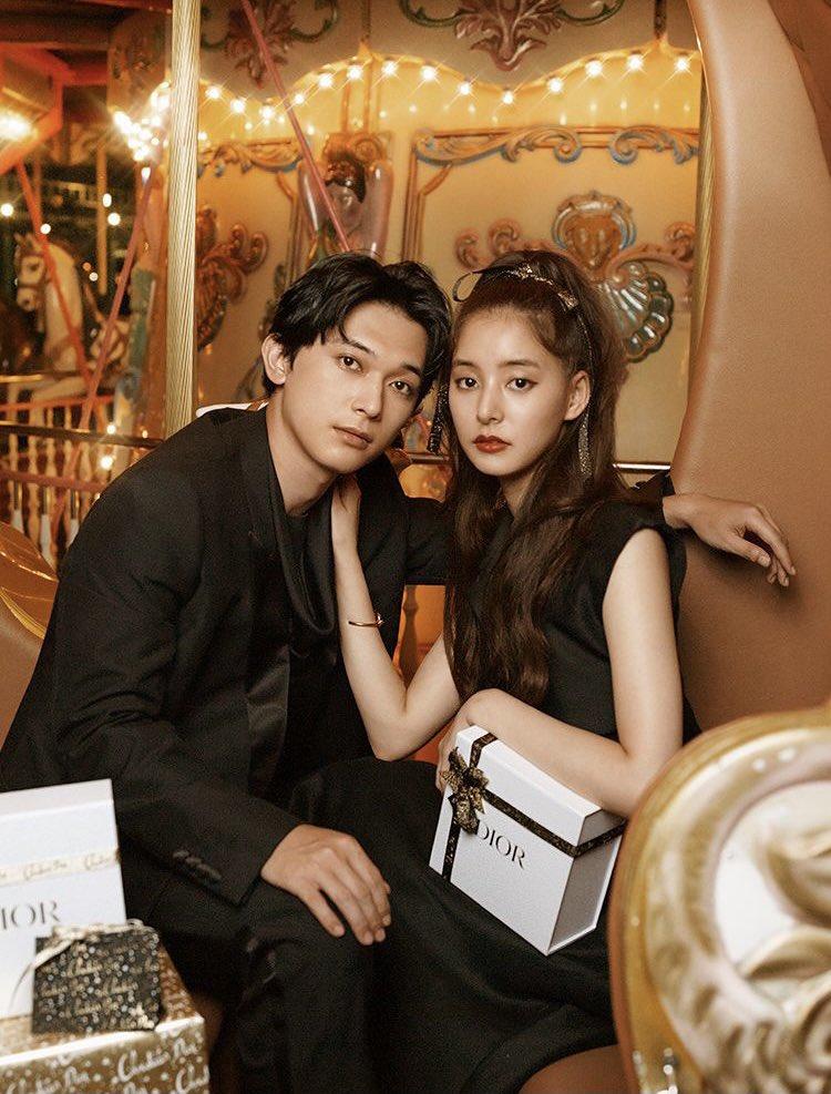 VOGUEの新木優子さん×吉沢亮さんが素敵で見惚れた…容姿がハイブランドすぎてDiorがよく似合う2人だ…🥺