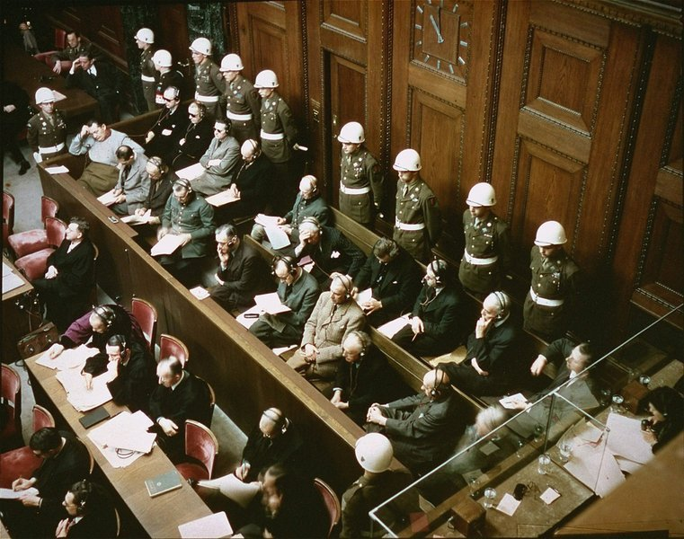 20 November 1945 | The 1st Nuremberg Trial started. 24 political and military leaders of the German Third Reich were tried. Twelve of the accused were sentenced to death: en.wikipedia.org/wiki/Nuremberg…