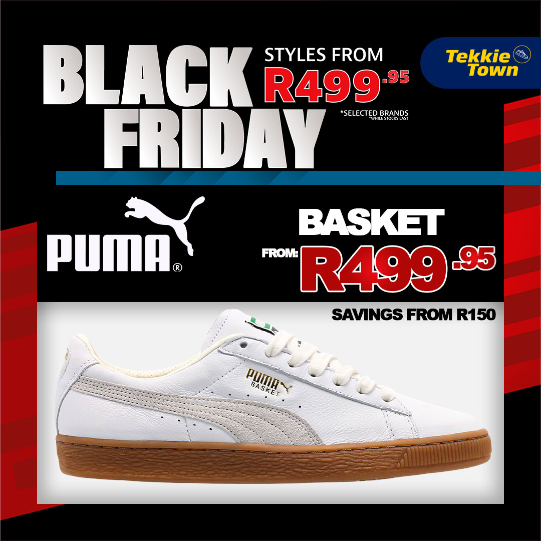 selected Tekkie Town stores. Sale ends