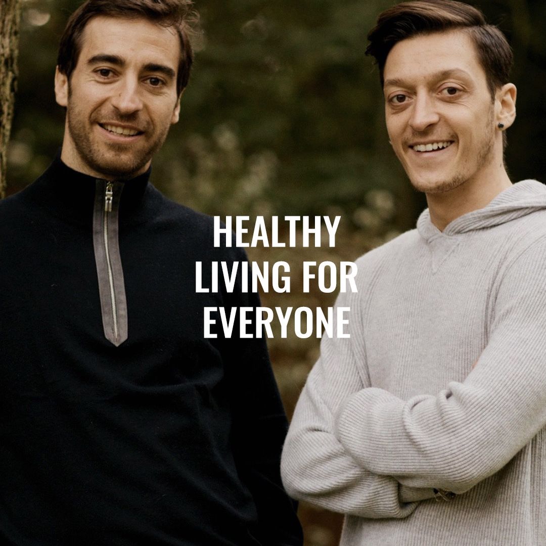 Our Founders, @mathieuflamini + @MesutOzil1088, have been lucky enough to be surrounded by top coaches, nutritionists and sports scientists. Sign up to our mailing list to be the first in the know 📧 👇