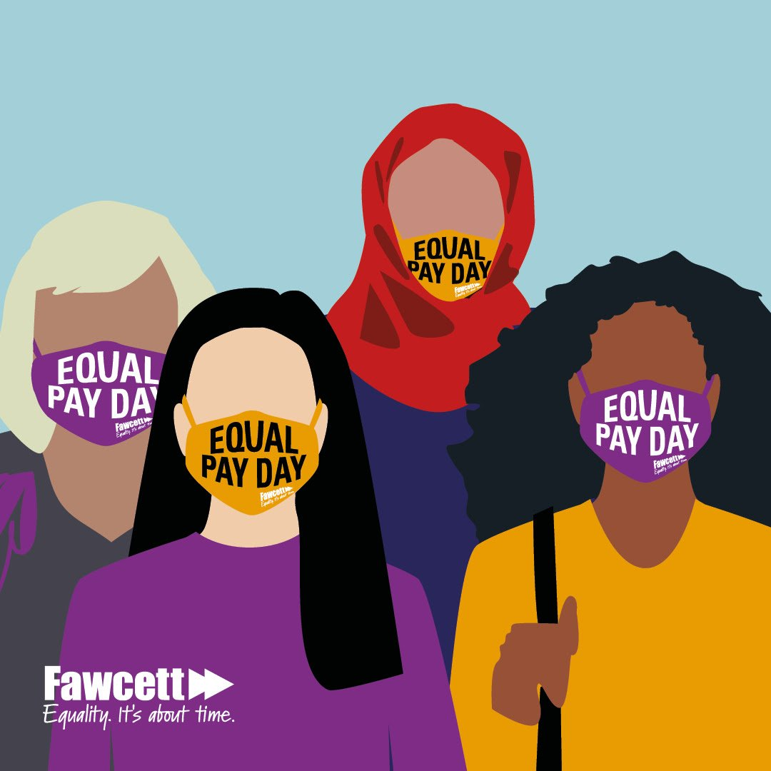 Today marks #EqualPayDay, a point in the year when women effectively stop earning as a result of the pay gap. This day would fall much earlier in the year for disabled and BAME women. The pandemic has only deepened these pre-existing inequalities for women ⚖️