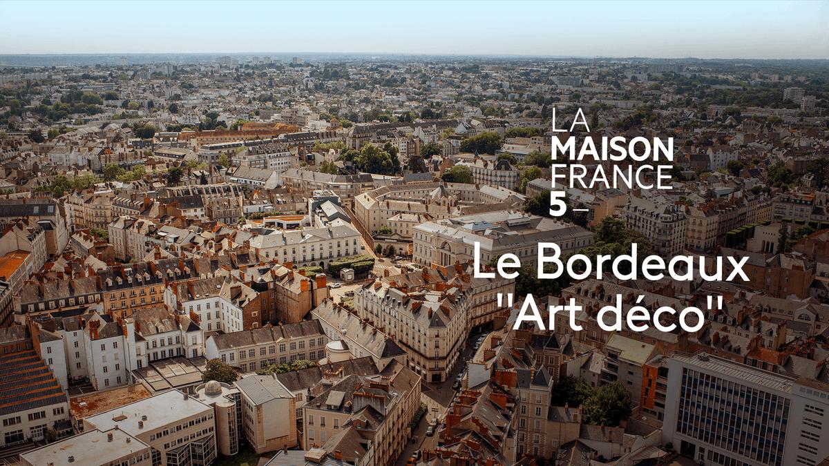"""Bordeaux a plus d'un visage mais si on sait la regarder, elle se présente sous son meilleur profil...  (Re)voir #LMF5 Bordeaux """"Art déco"""" en replay sur @francetv ►"""