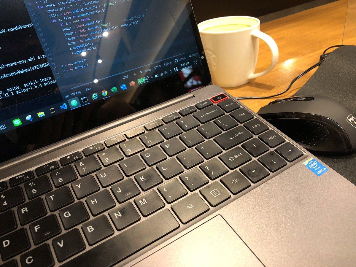 #今日の積み上げ Python学習>画像データをNumPy形式変換>配列データチェック>交差検証に分割オフラインもくもく会宣伝仕事終わりの時間の使い方💻☕️#プログラミング学習 #プログラミング初学者 #プログラミング独学
