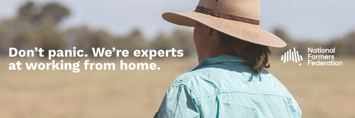 It's National Ag Day! No doubt many WA farmers will be too busy with harvest to even stop to enjoy the glory. Covid has certainly triggered a deeper appreciation for what farmers bring to the table, literally. The current @NationalFarmers banner photo really  worth a re-share. https://t.co/KJGw3undLz