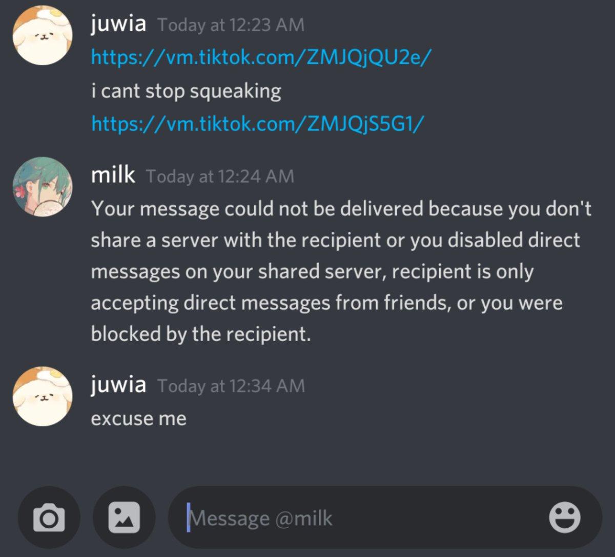 Chikari - sharing memes is my love language and @milkyvitamin rly said that to me
