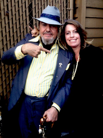 Happy birthday to my celestial buddy Dr. John. Miss him every day.