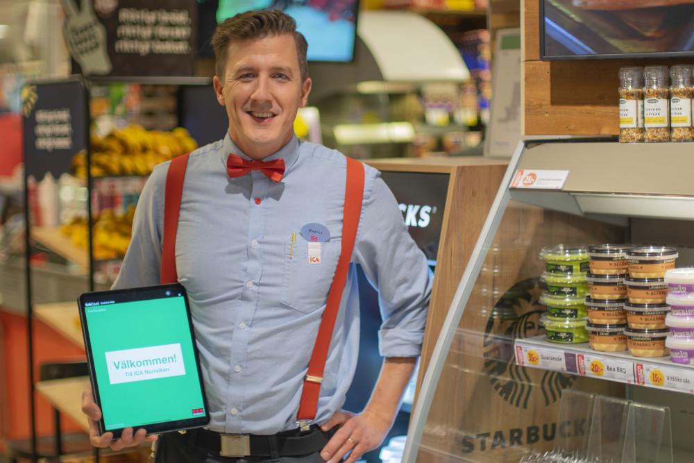 ICA-handlaren Magnus skyddar sin butik mot trängsel med Securitas produkt SafeCount  https://t.co/crpTUBcKwd https://t.co/cnv88dW4lz