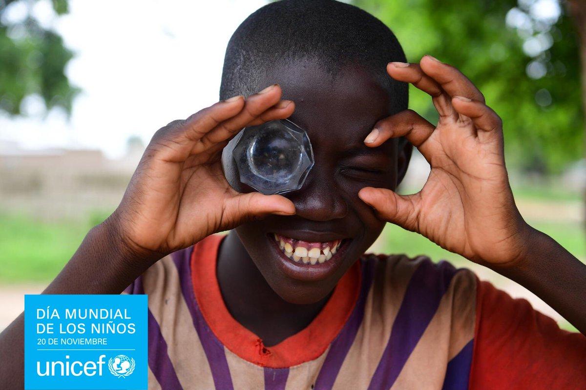 Por un mundo en el que se tenga en cuenta a los niños, hoy y siempre!  #DíaMundialdelosNiños @unicef_es https://t.co/eB8L5AdPjR