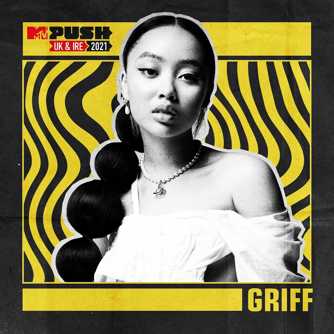 Sooooooo I have been nominated for #MTVPUSH UK & IRE acts for 2021 🤯🤯🤯  and I feel very honoured to be amongst some other extremely extremely cool artists  X