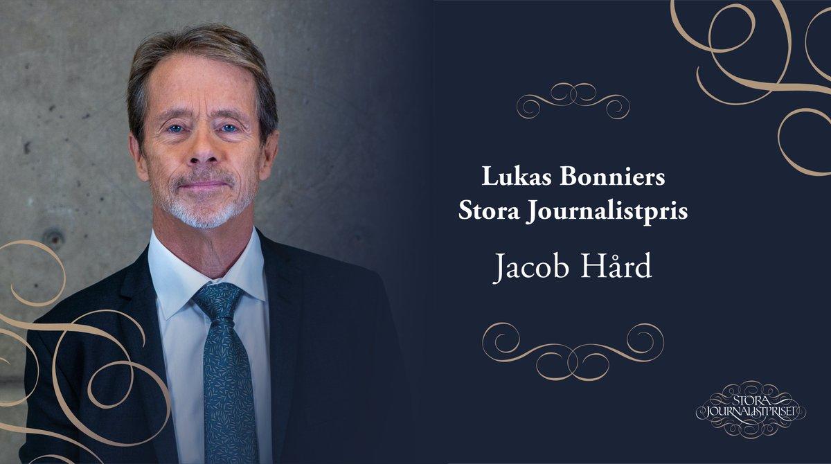 Vinnare av Lukas Bonniers Stora Journalistpris 2020 är Jacob Hård https://t.co/S7tr7Jx5uR