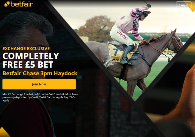 Betfair Chase Free Bet