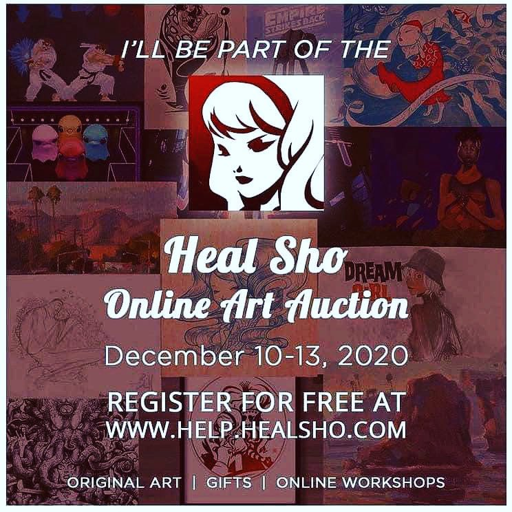 My friend is fighting for her life. We are putting together an art auction to help with her medical expenses. This is a great chance to support an amazing artist and acquire beautiful arts.