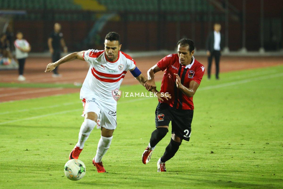 حازم إمام خارج مباراة الزمالك واف سي مصر في الكأس. https://t.co/mrb0zT0M59