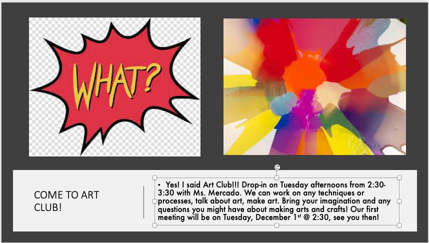 Attention 4th and 5th grade! If you like art come visit! <a target='_blank' href='https://t.co/LAgfpdHjor'>https://t.co/LAgfpdHjor</a>