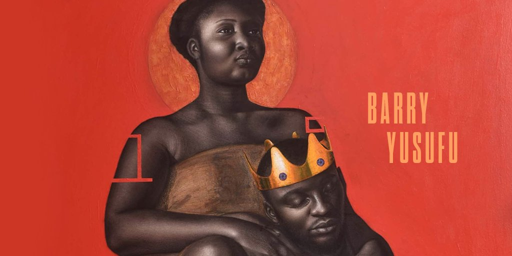 """Nigerian artist @barryyusufu_art aims to """"paint people in a way that they should be admired."""" His regal portraits are steeped with symbolism to create a broader understanding of Blackness. Watch the full """"When I See Black"""" film:"""