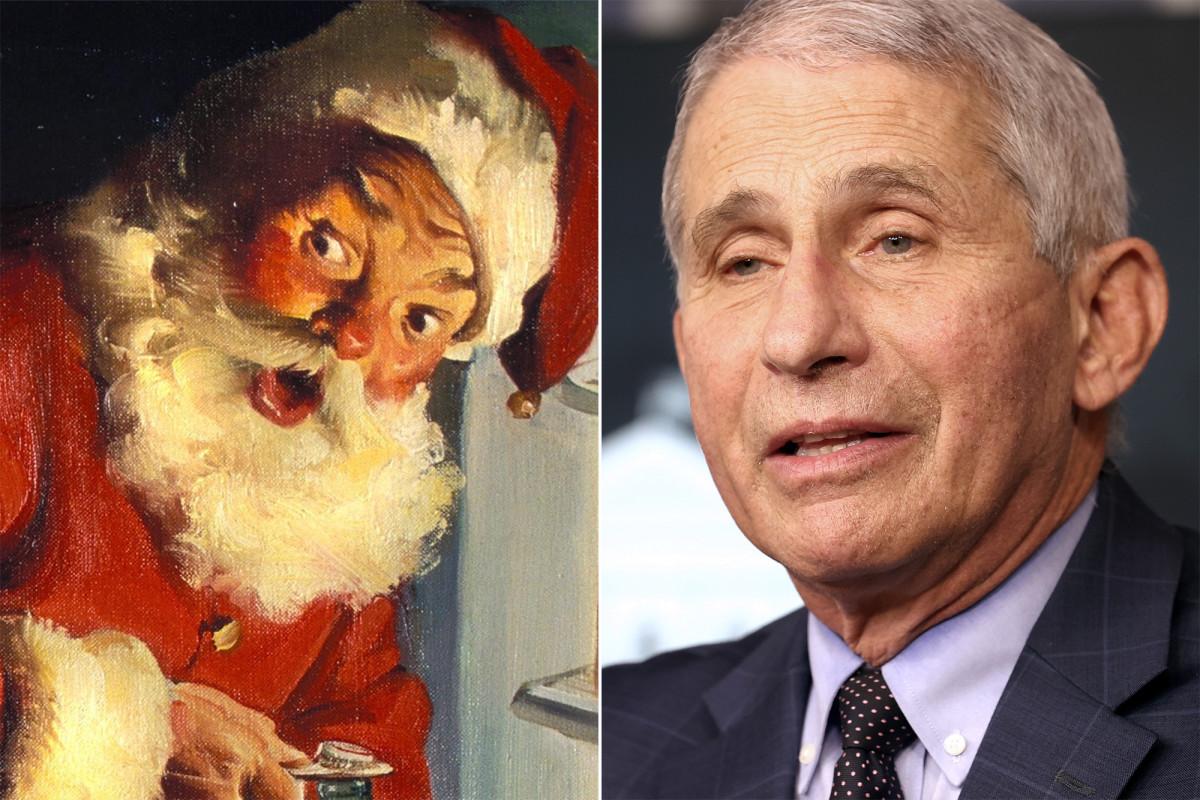 Santa Claus is 'immune' to COVID-19, says Dr. Anthony Fauci https://t.co/VRBeXv3pj7 https://t.co/qrWXz2Qzt4