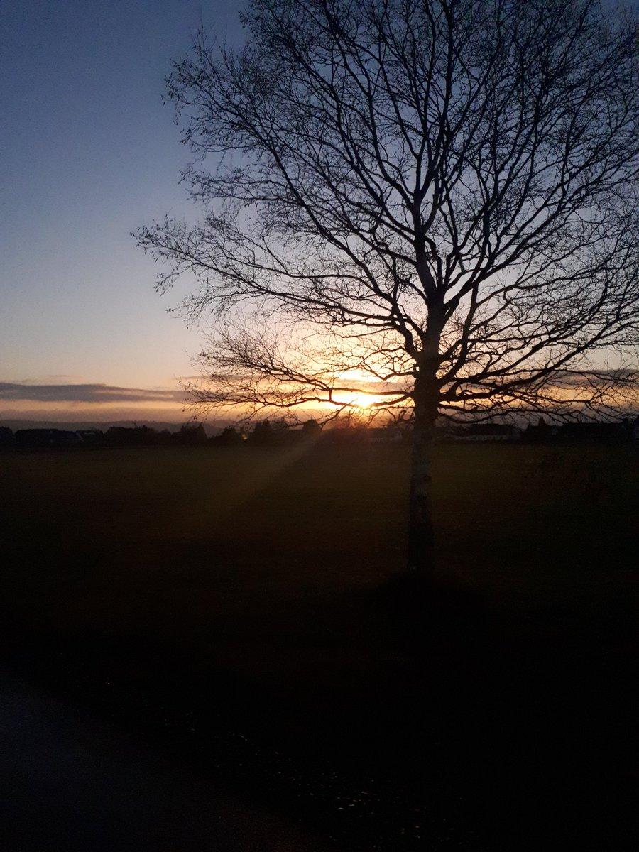 #kleineslichtimcoronadschungel   Mit dem Mann morgens solche Sonnenaufgänge vor dem Homeoffice genießen. https://t.co/V8Epf1YXgH