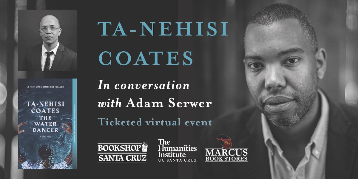 Ill be interviewing my friend Ta-Nehisi Coates this evening about his novel, The Water Dancer and *gestures* all this other stuff, from 9:00PM – 10:00 PM EST. Come check it out if you can!