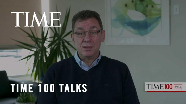 .@AlbertBourla, Chairman and CEO of Pfizer, on whether he would have predicted a successful vaccine #TIME100Talks