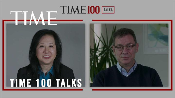 At a #TIME100Talks, Pfizer chairman and CEO @AlbertBourla discusses vaccine skepticism