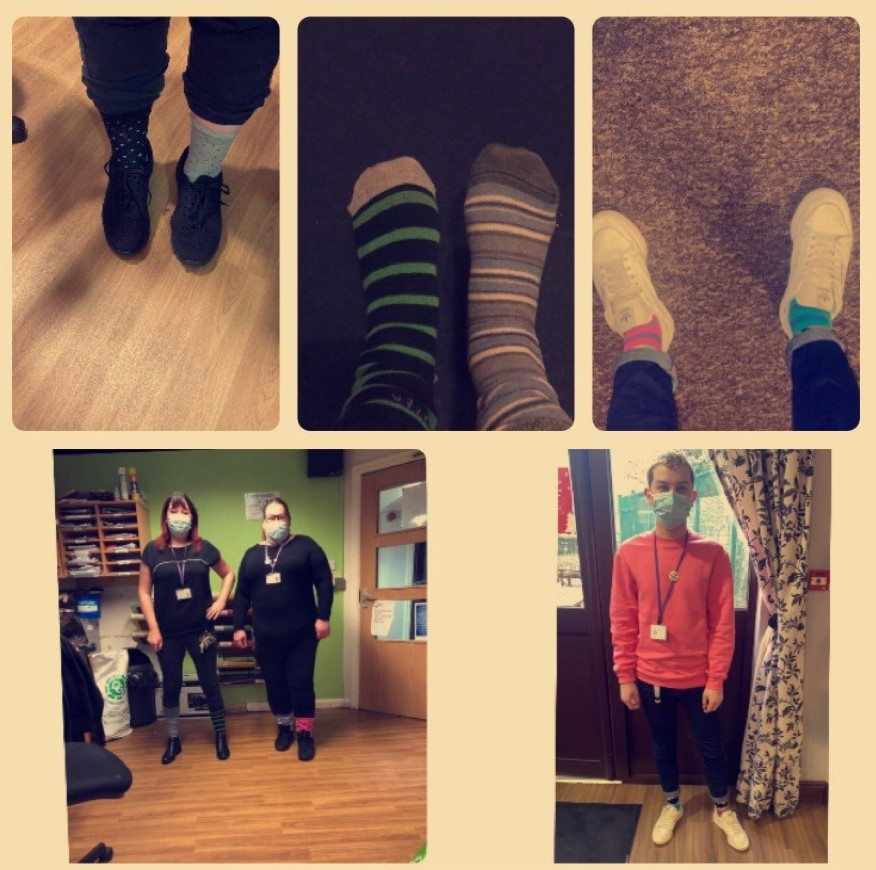This week is #AntiBullyingWeek. It happens in schools - but it also happens at work. It's not welcome here at Active Pathways! We're united against bullying & to show our support, our teams are wearing odd socks to celebrate all the things that makes us unique ❤️ @ABAonline