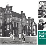 #FlashbackFriday... to when the Lockers Park school prospectus was printed in - wait for it - BLACK & WHITE! We believe the photos are from 1975 but that the prospectus may have been printed a little later in 1978. 🧐📘💙 #archive #schoolhistory #theseventies