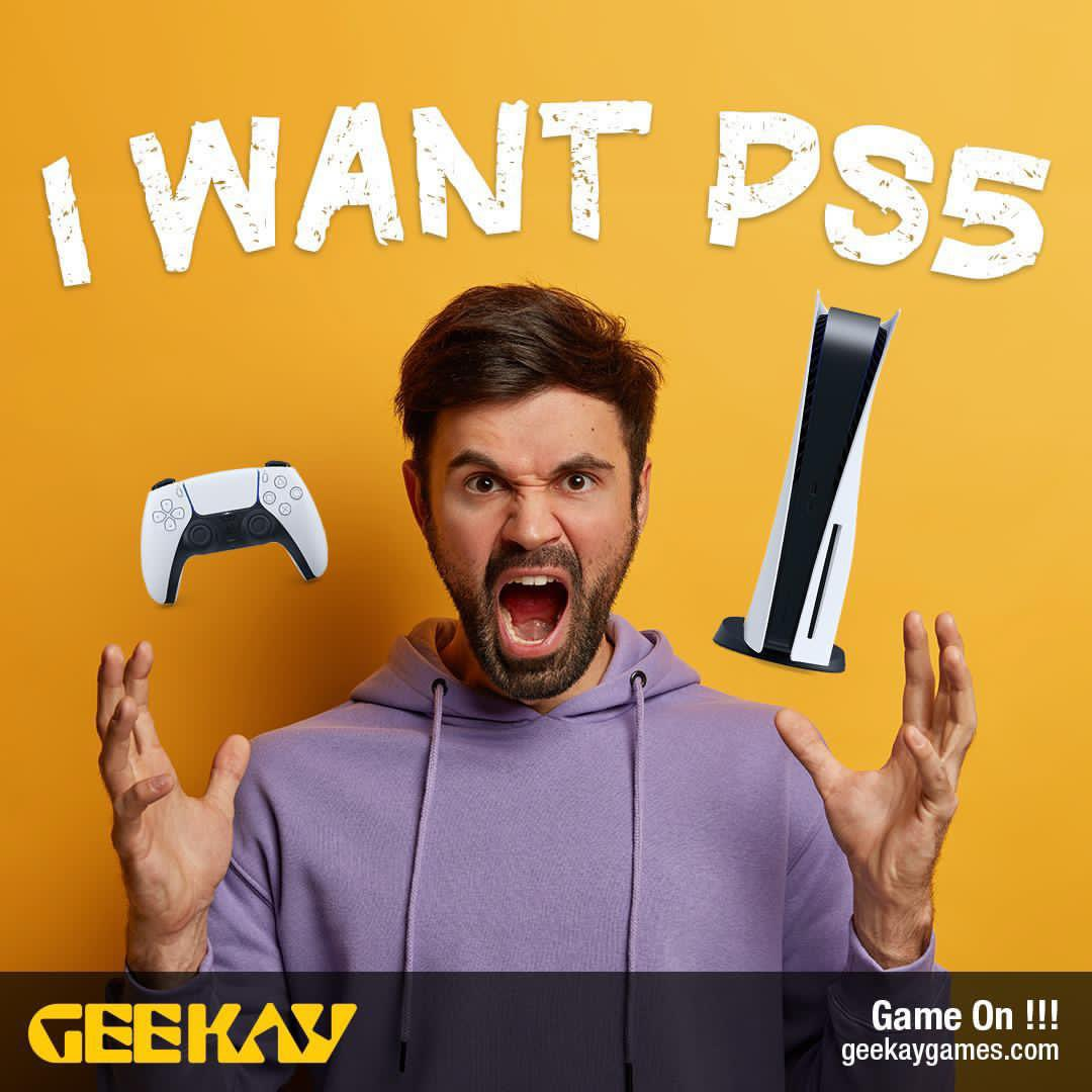 Couldnt get your hands on the PS5?  Here is your chance to win it.  How: show us how BADLY you want the PS5 by uploading an image on the link below 🤪 the crazier the better.  Upload your image here: https://t.co/1Y5ehheKd1  Winner will be chosen and announced on 30th November. https://t.co/rd9njtJlw3