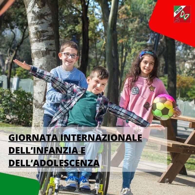 Oggi si celebra la Giornata internazionale dell'Infanzia e dell'Adolescenza. Anche #UILDM da sempre è in prima linea per promuovere i diritti dei #bambini e degli adolescenti con e senza #disabilità.    Leggi di più sul nostro impegno in questo articolo!  https://t.co/7CazXCY6YU https://t.co/zPBddD0jWc