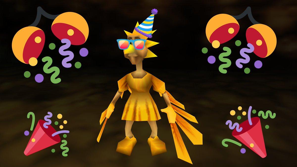 Happy 20th birthday Canary Mary!