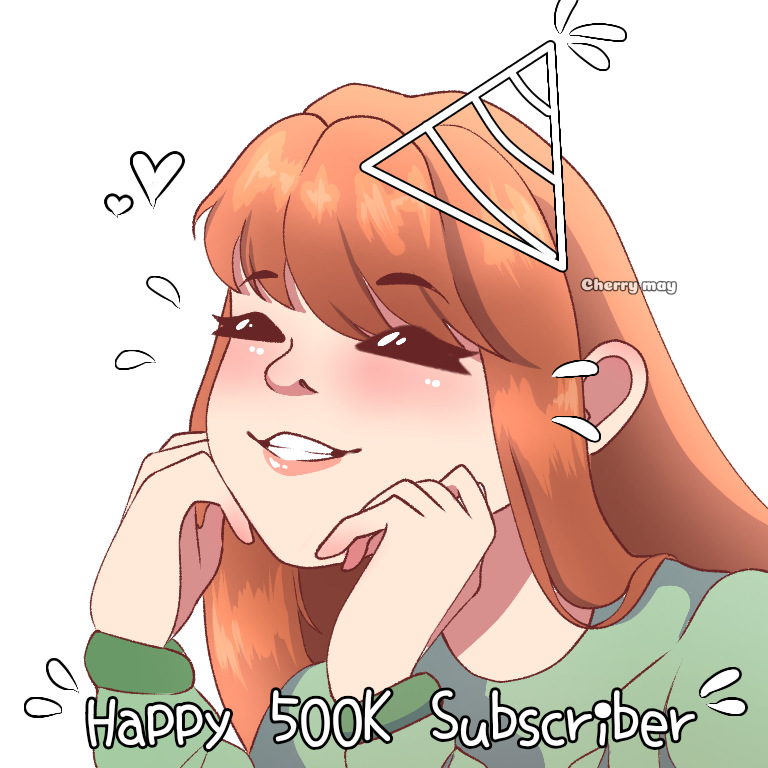 GeminiTay - 500k Subscriber milestone reached ✨🥺  Thank you! This is incredible. I can't wait to do this fulltime as soon as I graduate.   Artist: Kitty Fuu (in my discord)