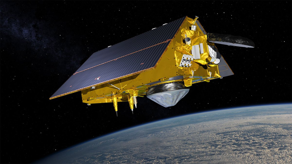 Tomorrow, the Sentinel-6 Michael Freilich 🛰️ is scheduled to launch! Data from this joint international mission will help improve @NOAA's efforts to track sea-level rise and study tsunamis, El Niño, and hurricane intensity.  Learn more:  #SeeingTheSeas