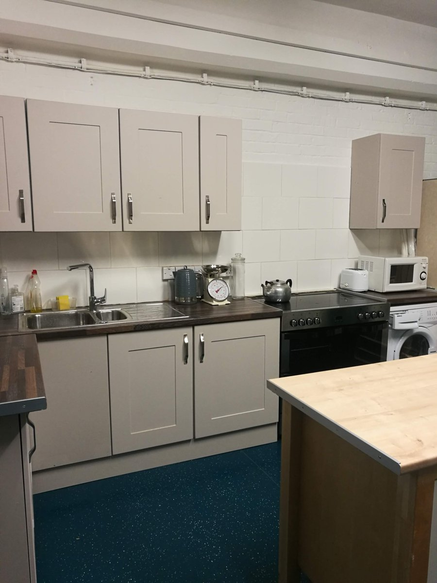 It's almost a year since our fundraising evening at Duke Street with @Kheperaorg. And what a difference a year makes! We're so pleased with the progress in the refurbishment of our Community Cookery and Well-being Kitchen thanks to our wonderful supporters #cooking #wellbeing