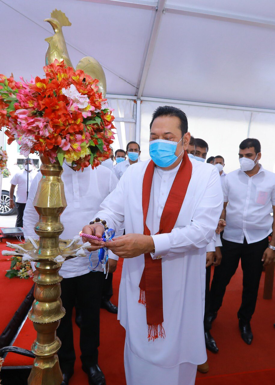 பேலியகொடை மெனிங் சந்தை திறப்பு-Pettah Manning Market Complex to Peliyagoda-Mahinda Rajapaksa Opens