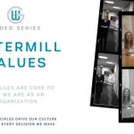 Image for the Tweet beginning: At Watermill, #Values are one
