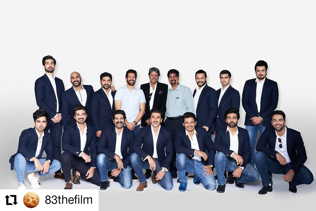 #83thefilm  @83thefilm • • • • • • Kapil's Devils are set for the next innings! 🏏 #ThisIs83 #83FirstLook