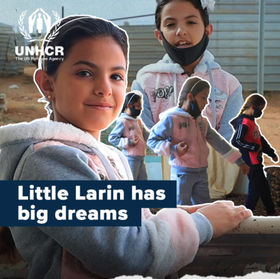Every child deserves a safe childhood.  Little Larin has a message for you 💙