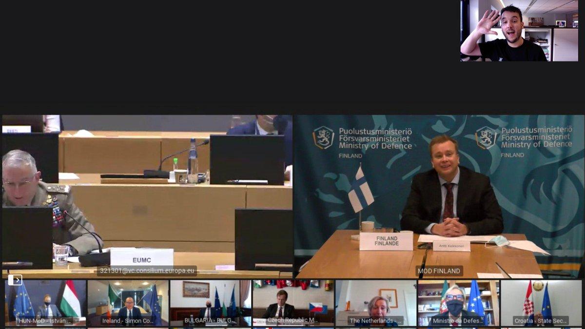 test Twitter Media - nieuws: ik kreeg toegang tot een geheim online overleg tussen de Europese ministers van Defensie van de 27 landen.  Minister Bijleveld deelde een foto van de meeting met een deel van de pincode, die met een paar pogingen kon worden geraden.  https://t.co/sSOOMWPIHK https://t.co/NLO3SpBsPb